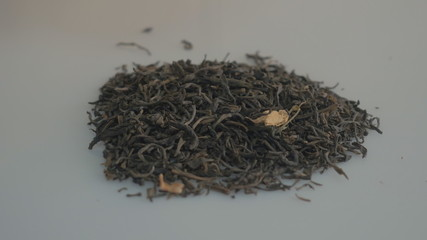 Heap of Chinese black tea