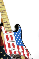 electric guitar American flag 3