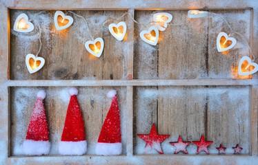 Hintergrund - Weihnachtsfenster