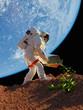 Astronaut grass plants. - 73055318