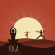 Yoga background. - 73055746