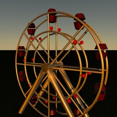 Panoramic wheel