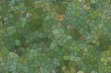 Set of colored abstract transparence mosaic vector backgrounds