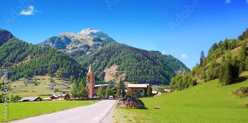 Papiers peints Alpes Alpage en Queyras