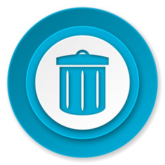 recycle icon, recycle bin sign