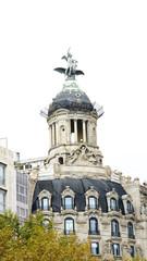 Cúpula de un edificio de Madrid