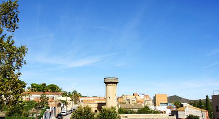 Panorámica del barrio de la Clota, Barcelona