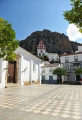 Plaza del ayuntamiento, Ubrique, Andalucía, España