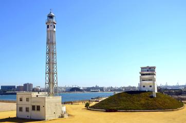 Faro de La Caleta.Cádiz.España