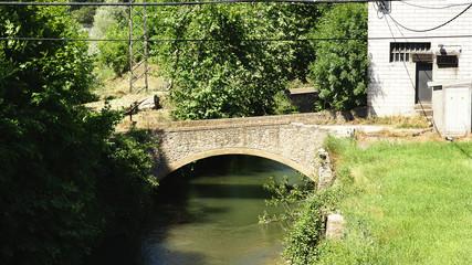 Puente sobre el río Ter, Les Masies de Voltrega, Barcelona