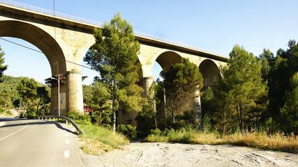 Puente romano en Castellbell y El Vilar, Barcelona