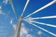 Obrazy na płótnie, fototapety, zdjęcia, fotoobrazy drukowane : Abstract Detail Bridge In Podgorica, Montenegro