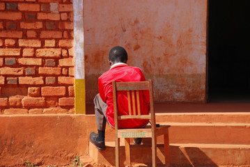 Loneliness and discomfort - Tanzania - Africa