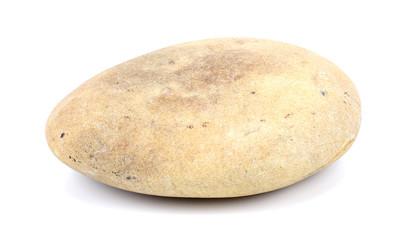 Round stone.
