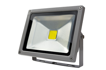 LED Energy Saving Floodlight gray.