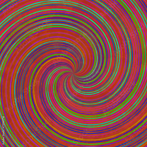 Staande foto Fractal waves Grunge swirl generated texture