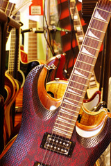 shop with guitars 2