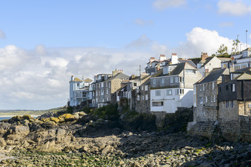 houses in front of sea , ST. Ives, Cornwall