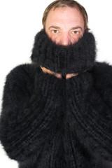 Angora Rollkragen Pullover