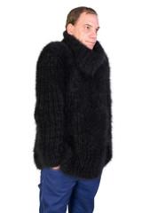 Turtleneck Angora Sweater
