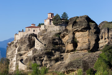 The Holy Monastery of Varlaam, in Greece. The Holy Monastery of