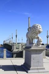 Bridge of Lions Statue - St. Augustine