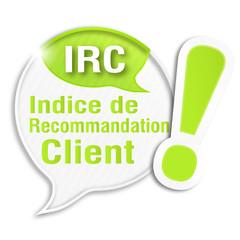 bulle rayée acronyme : IRC