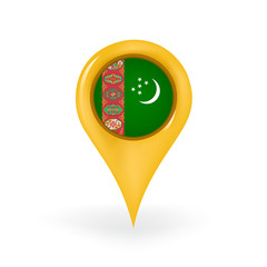 Location Turkmenistan