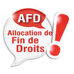 bulle rayée acronyme : AFD
