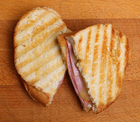 Toasted Sandwich with Cheese & Ham