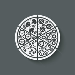 pizza design element