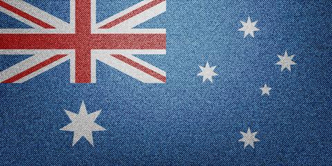 Denim Australia Flag