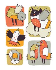 Птички и их жизнь