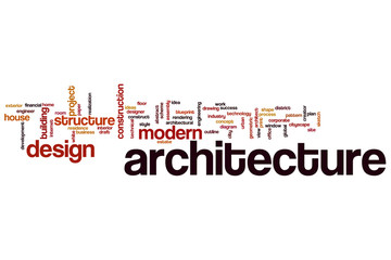 Architecture word cloud