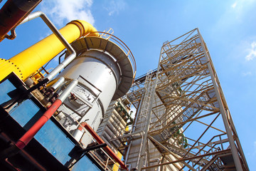 Cooling tower chemical factories, coal processing