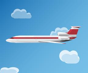 Tupolev 154 Airplane