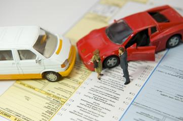 Constat à l'amiable : assurance voiture