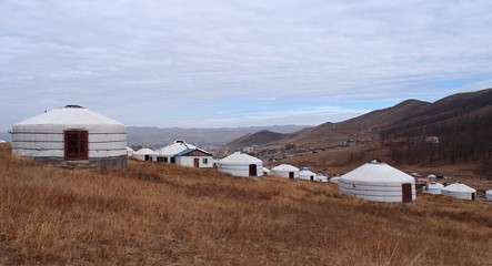 Yurt Villages in Mongolia
