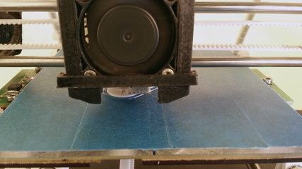 3D Printing Plastic Part Prototype