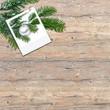 Weihnachten, Hintergrund, Holz, Tanne