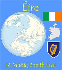 Ireland location emblem motto