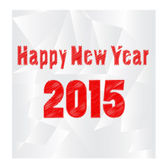 Happy new year2015. vector illustration