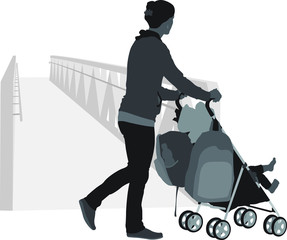 Taking Baby for a Walk
