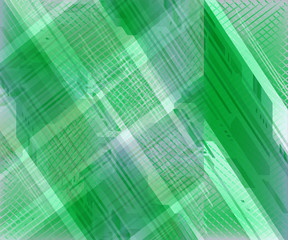 Abstract grid soft green background