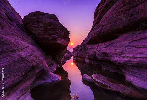 Grand Canyon called Sam-Pan-Bok in Thailand