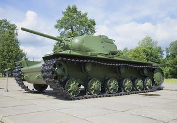 Тяжелый советский танк КВ-1С