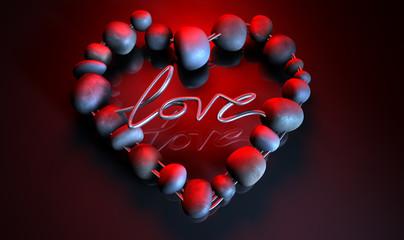 Heart Love Stones