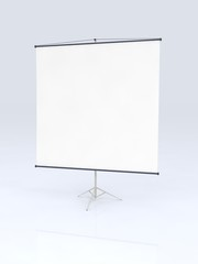 projecting  screen