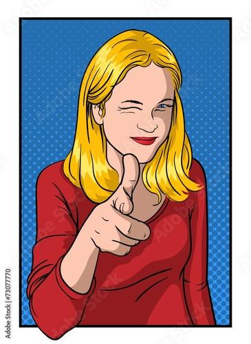 dziewczyna-pokazuje-kciuk