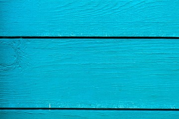 Wood texture background, vivid turquoise